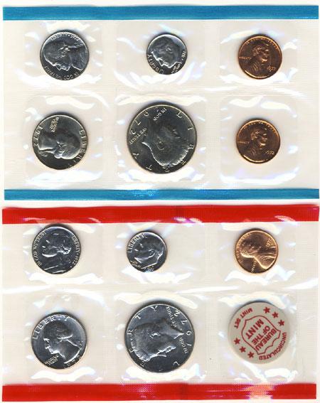 1972 Uncirculated Mint Set