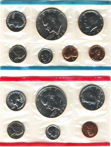 1973 Uncirculated Mint Set