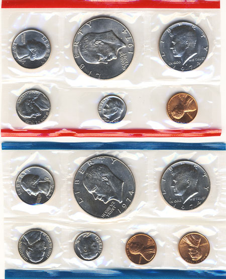 1974 Uncirculated Mint Set
