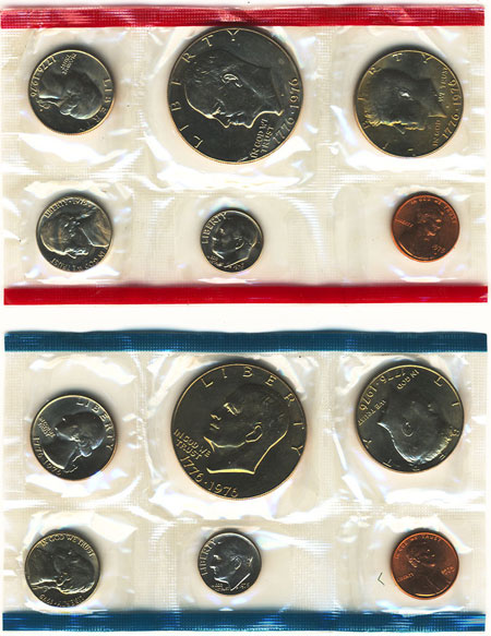 1975 Uncirculated Mint Set