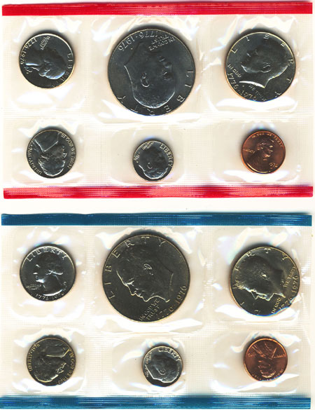 1976 Uncirculated Mint Set