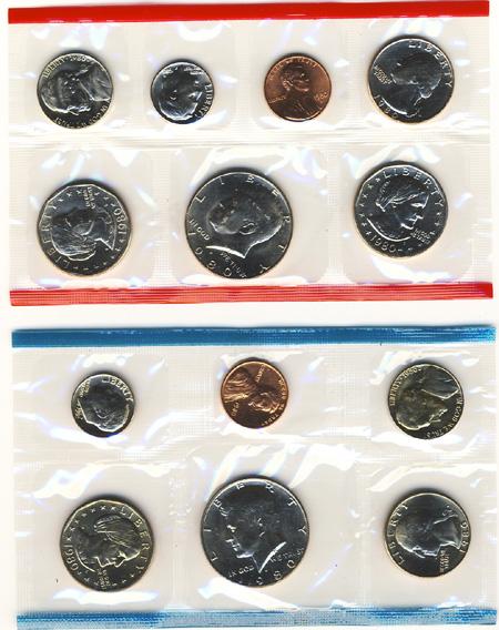 1980 Uncirculated Mint Set