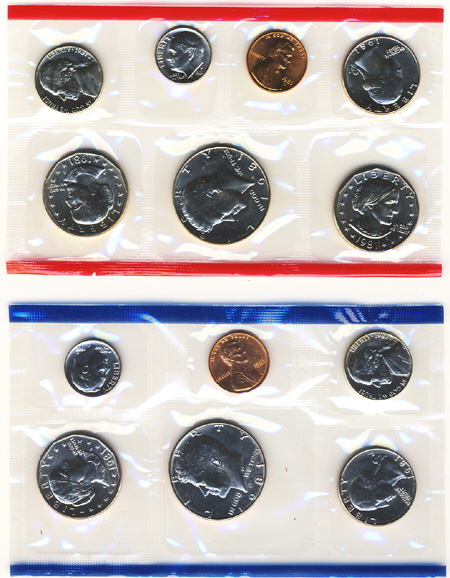 1981 Uncirculated Mint Set