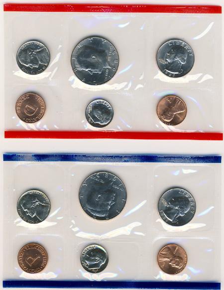 1985 Uncirculated Mint Set