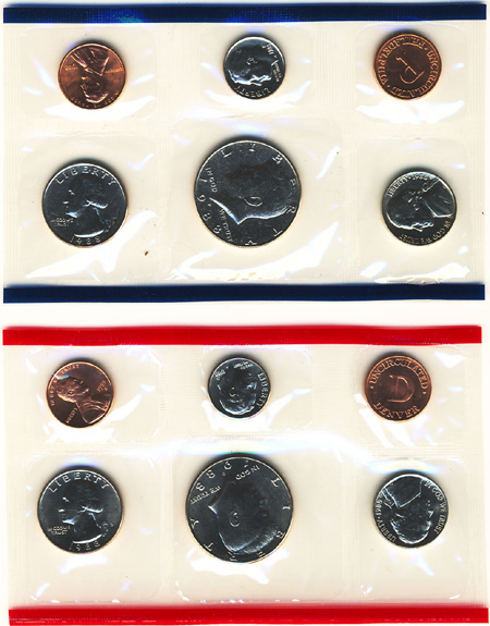 1988 Uncirculated Mint Set