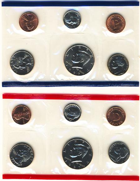 1997 Uncirculated Mint Set