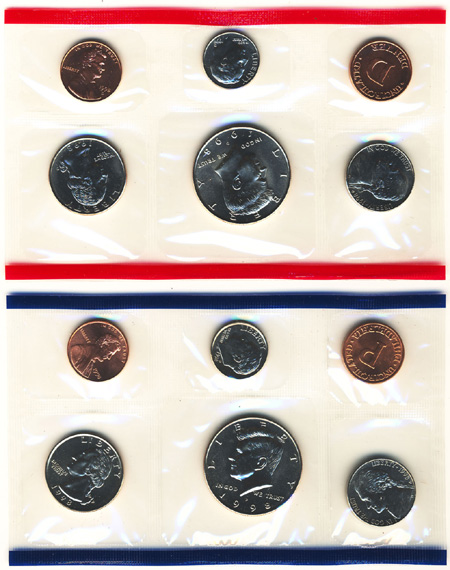1998 Uncirculated Mint Set