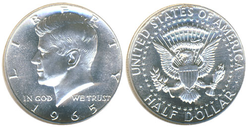 1965 Special Mint Set Coin