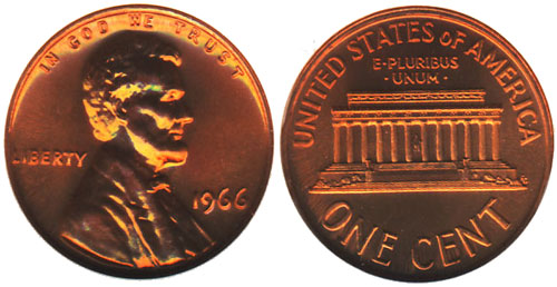 1966 Special Mint Set Coin