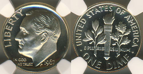 1967 Special Mint Set coin