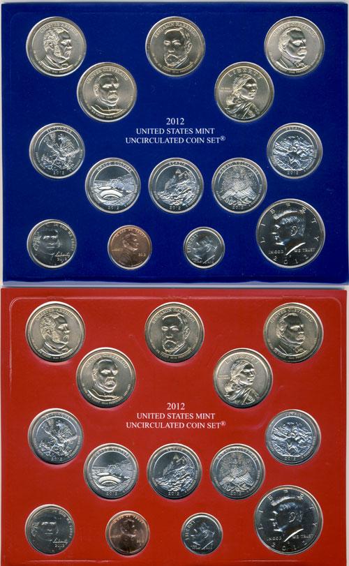 2012 Mint Set