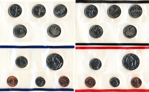 1999 Mint Set | US Mint Uncirculated Coin Sets