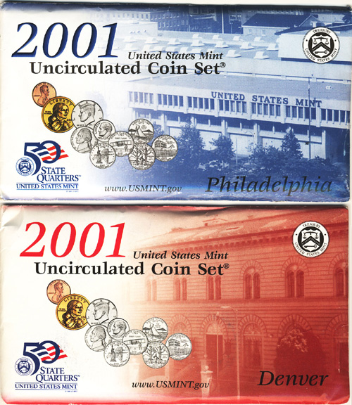2001 Mint Set